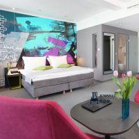 简约风格酒店家具定做 商务酒店家具配套工程 客房家具装修工程