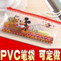 HGBD系列卡通透明PVC笔袋批发 可定做