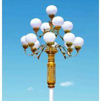 扬州弘旭照明优质生产供应12米9火中华灯景观灯