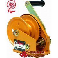 手动绞盘BHW-1800 台湾虎牌1800LBS手摇绞盘