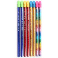 顺手HB铅笔 印花铅笔 铅笔厂家批发 不滑芯 文具定制