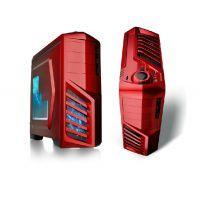 凤凰城USB3.0背线侧透明电源下置主机箱台式游戏电脑机箱 批发