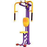 大连健身器 户外健身器材 一些锻炼力量的器械可以与健身房里的器械相媲美
