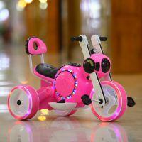 儿童电动车摩托车三轮车小孩玩具车可坐人甲壳虫宝宝电动童车