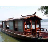 新式画舫船 贡多拉 景观船 欧式木船 单篷船 乌篷船 高低篷