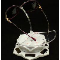 太阳能旋转眼镜架 眼镜展示架子 太阳镜展示架 展示道具器材