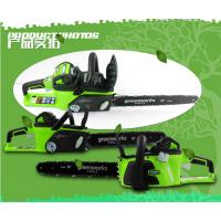 【现货销售】greenwors格力博80伏充电链锯/大功率锂电池电锯/80/40v超长待机家用伐木锯