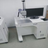 塑料玻璃激光打标机一网激光YLP-110木材皮革激光刻字机