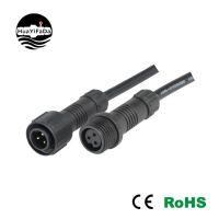 M18B-3芯尼龙电缆防水接头尼龙电缆固定头 塑料电缆螺旋锁紧IP67