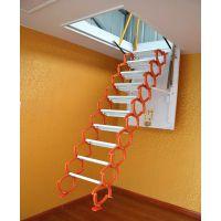 楼梯销售 伸缩折叠楼梯 阁楼专用梯 复式电动遥控楼梯 艾达阁楼伸缩梯 别墅专用伸缩折叠楼梯