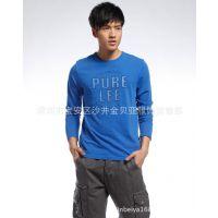 2015春季新款男T恤 长袖男装T恤 男士时尚多色T恤打底衫 量大从优