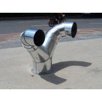 佛山江大螺旋风管厂专业生产不锈钢镀锌螺旋风管可定制