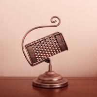 葡萄酒架 创意欧式时尚铁艺复古放红酒架子手提酒架杯架摆件 特价