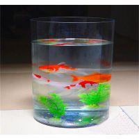 高透有机玻璃圆形鱼缸 亚克力水族鱼缸