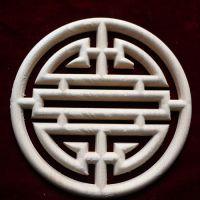 东阳木雕 仿古寿字 中欧式  橡胶木  贴花 角花 家具贴 厂家直销
