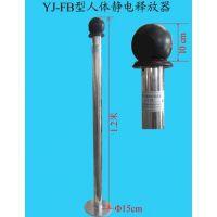 触摸式人体静电释放器价格 YJ-FB