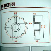 乾德机械设备 常年供应传动链轮 不锈钢链轮厂家