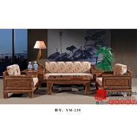 北京老榆木沙发组合中式客厅沙发YM-239
