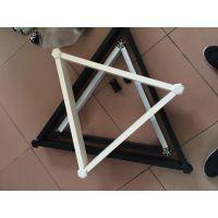 供应铝合金天花格栅装饰材料_三角铝格栅生产厂家_欧百得