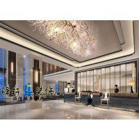 合肥精品酒店装修 中式酒店装修 酒店设计奢华享受