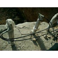 阿克苏炮机打不动岩石怎么办用硬石头开裂机