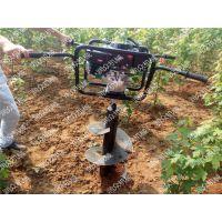 购买加长四轮挖坑机 润众制造栽种橘子树的打孔机