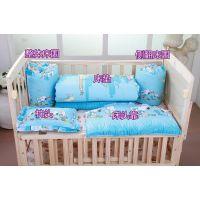广州家具厂批发 实木婴儿床 摇篮床 小童床 健康婴幼儿床