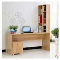 特价写字台分体书柜书桌电脑桌台式桌现代简约家用宜家办公桌