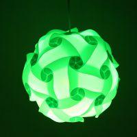 瓣瓣家居创意DIY自由组合PP塑料灯罩IQ Lamp餐厅吊灯智能IQ欧式灯