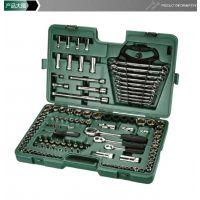 世达工具120件汽车维修工具套筒扳手汽车修理工具套装组合 09014