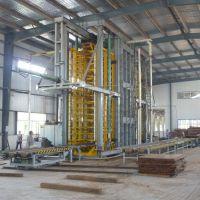 供应青岛国森机械制造的竹丝地板成套加工设备生产线