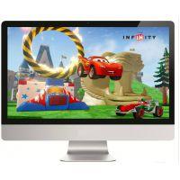 24寸27寸液晶电脑显示器LED高清IPS完美屏网吧白色游戏显示器包邮