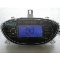 电动车电瓶车改装升级液晶仪表速度里程电量档位48v-96v迅鹰款