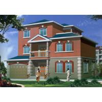 [农村自建房]两层别墅住宅建筑施工图(约200平方米)