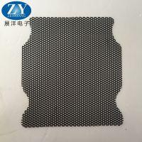东莞展洋专业制作PVC机箱防尘网,现供应材料厚度0.45孔径0.8