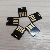 慧荣方案 黑胶体8GB 短版 SMI+三星 TLC 超薄 超小迷你U盘批发