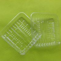 深圳平湖1414 食品级透明PET环保草莓塑料托盘 蔬菜塑料盒 塑胶盒
