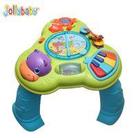 澳洲jollybaby 宝宝多功能音乐机学习桌 趣味音乐游戏台 新款