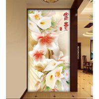 中式简约瓷砖 艺术玄关墙砖 彩雕背景墙 客厅卧室电视瓷砖