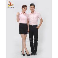 比伦服饰 定做男女式衬衫 西装 各大企业工作服定做衬衫套装BL-NS18