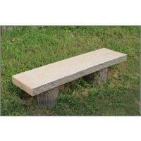 1.8米仿树皮坐凳玻璃钢模具