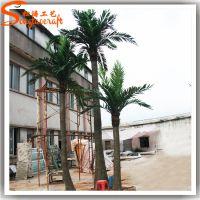 厂家直销仿真椰子树叶 人造仿真富贵椰子批发 玻璃钢椰子树