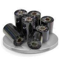 消银龙PET标签专用树脂基条码碳带,110*300热转印碳带,条码色带,防刮擦碳带