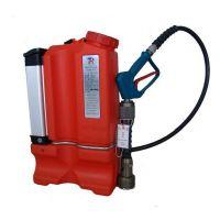 DBX16/1.2D电动单相流背负式细水雾灭火装置,水罐是由ABS塑料制成,轻便耐用,耐冲击,抗腐蚀