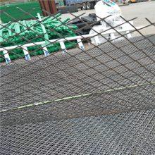 铁丝网菱形网 冲压钢板网 菱形钢板网图片