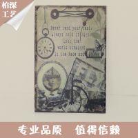 厂家供应  出口铁皮画 装饰铁皮画 彩色铁皮画 个性家居墙画壁画