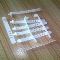 硅胶扎带 万能硅胶捆绑带 彩色扎线带 数据线扎线带