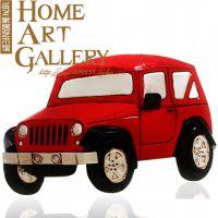 复古铁皮车挂件 仿古车模型 墙壁挂件 家具摆饰 酒吧咖啡厅装饰