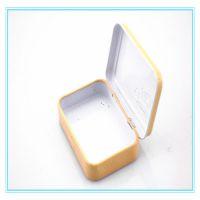东莞制罐厂订做小铁盒 方形药品铁盒 马口铁原身铰铁盒