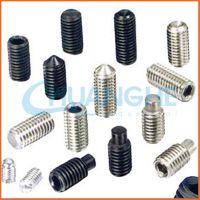 广东长期供应英制美制不锈钢紧定螺丝无头螺丝非标机米螺丝厂家